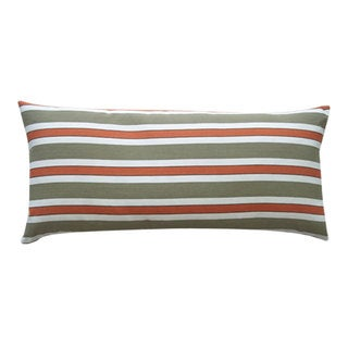 12 x 26-inch Funstripe Red Decorative Throw Pillow