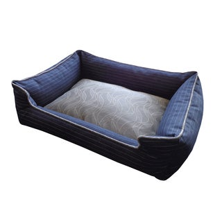 Ivy Wave Multi-colored Small Chill Pet Bed