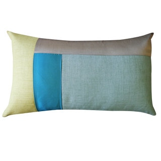 Montana Aqua Decorative Throw Pillow