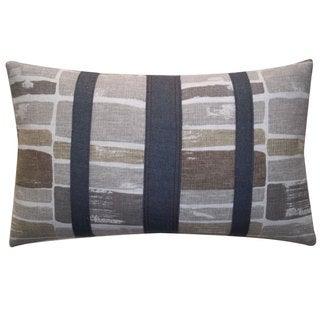 Martin Patch Grey Decorative Throw Pillow