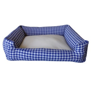 Night Blue/ White Small Chill Pet Bed