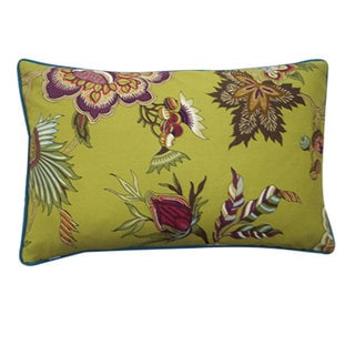 Jazmine Plum Decorative Throw Pillow