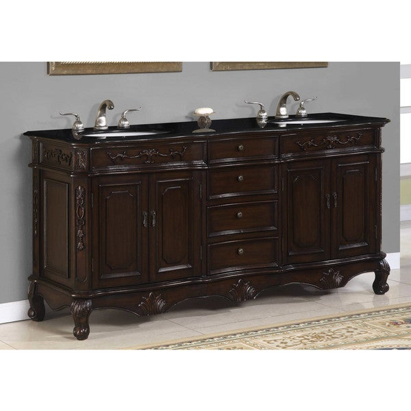 ica furniture andromeda double vanity overstock shopping great