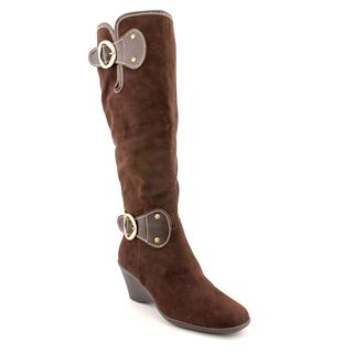 Aerosoles Women's 'Wonderling' Fabric Boots - Wide (Size 6.5 )