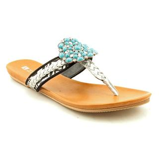 White Mountain Women's 'Enrich' Basic Textile Sandals (Size 6.5 )