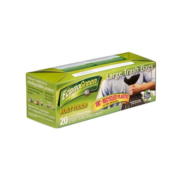 Jig A Loo EconoGreen Large Trash Bags (Pack of 8)