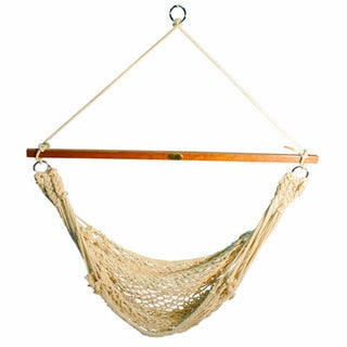Algoma 44-inch Hanging Cotton Rope Chair