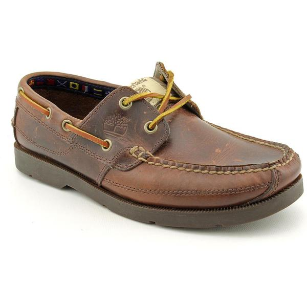 Timberland Earthkeepers Men's 'KiawahBy Boat' Leather Casual Shoes (Size 10.5 )