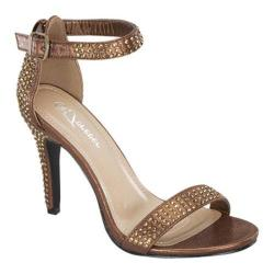 Women's Wild Diva Rubina-36 Bronze Faux Leather