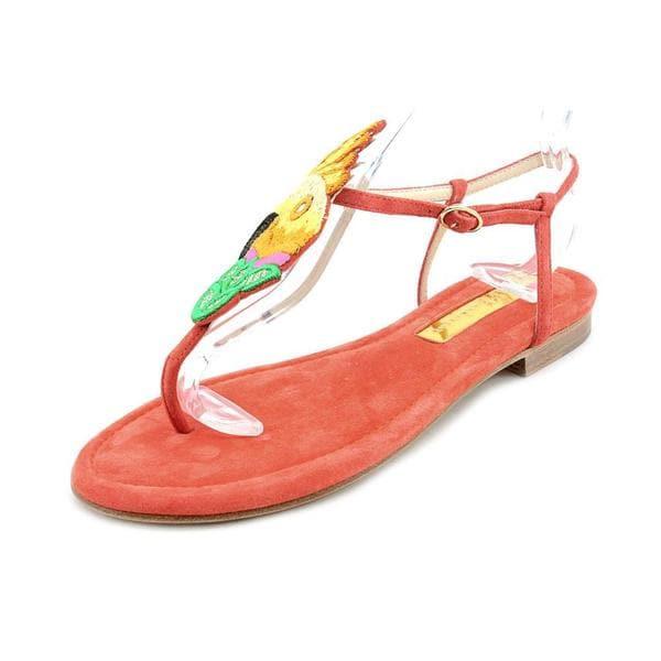 Rupert Sanderson Women's 'Nikko' Regular Suede Sandals (Size 7 )