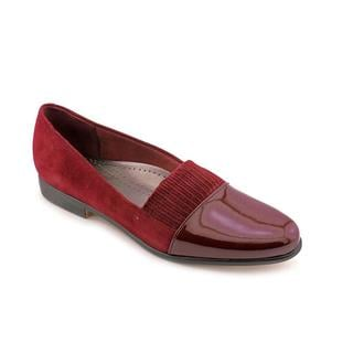 Trotters Women's 'Laurie' Regular Suede Dress Shoes - Wide (Size 12 )
