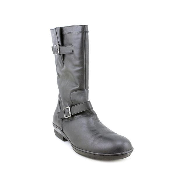 David Tate Women's 'Dorothy' Leather Boots - Extra Wide (Size 9.5 )