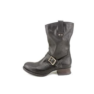 Frye Women's 'Martina Engineer Short' Leather Boots (Size 8.5 )