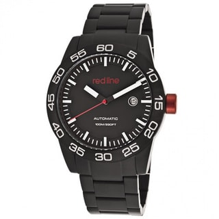 Red Line Men's Mileage Black Watch RL-50045-BB-11