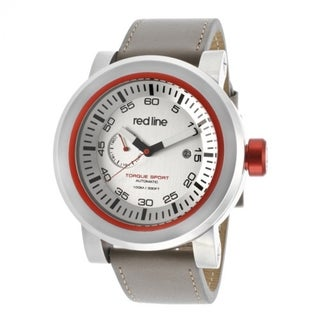 Red Line Men's Torque Silver Watch RL-50047-02RD-TANST