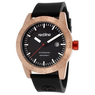 Red Line Men's Mileage Black Watch RL-50045-RG-01-BK-ST