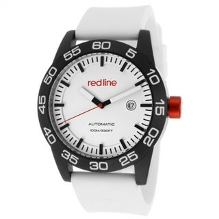 Red Line Men's Mileage White Watch RL-50045-BB-02-WH-ST