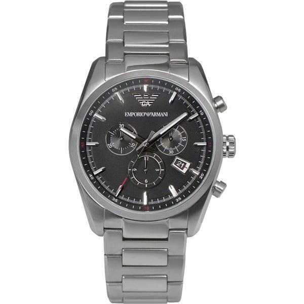 Armani Men's AR6050 Tazio Chronograph Bracelet Watch