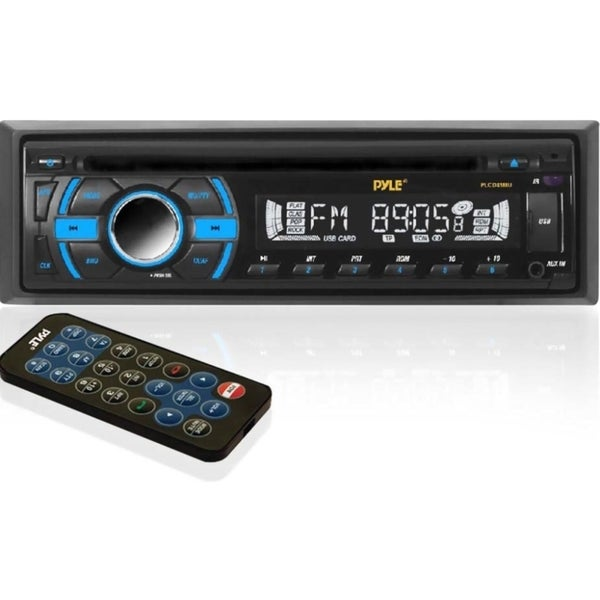 Pyle PLCD41MU Car CD/MP3 Player - iPod/iPhone Compatible - Single DIN