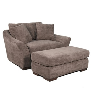 Diana Chair and Ottoman set