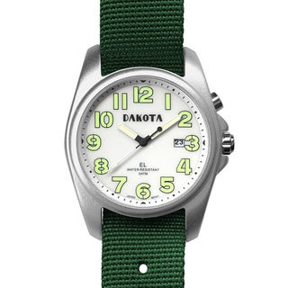 Dakota Men's Light Angler Nylon Field Watch