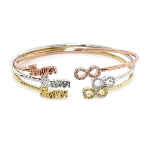 Eternally Haute Forever Infinity Sentiment Bangle
