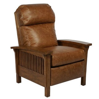 Craftsman II Mission Leather Recliner