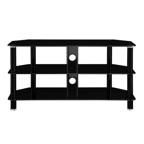 InnovEx Concord 42-inch Black TV Stand