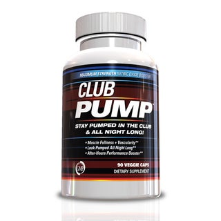 Club Pump Maximum Strength 90-count Nitric Oxide Booster