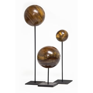 3-piece Decorative Sphere Set