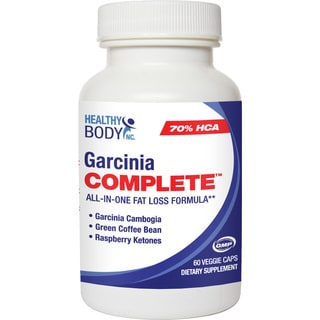 Healthy Body Garcinia Complete All-in-One Fat Loss Formula (60 Veggie Caps)