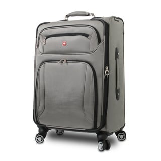 Wenger Zurich 24-inch Expandable Spinner Upright Suitcase