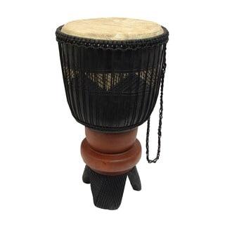 Handmade Palace Djembe Drum (Ghana)