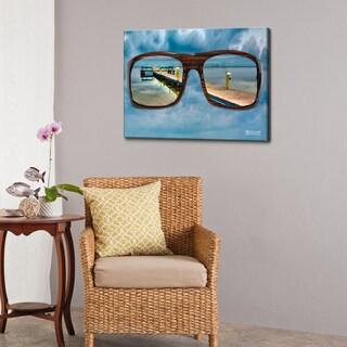 Bruce Bain 'Glasses' Canvas Wall Art