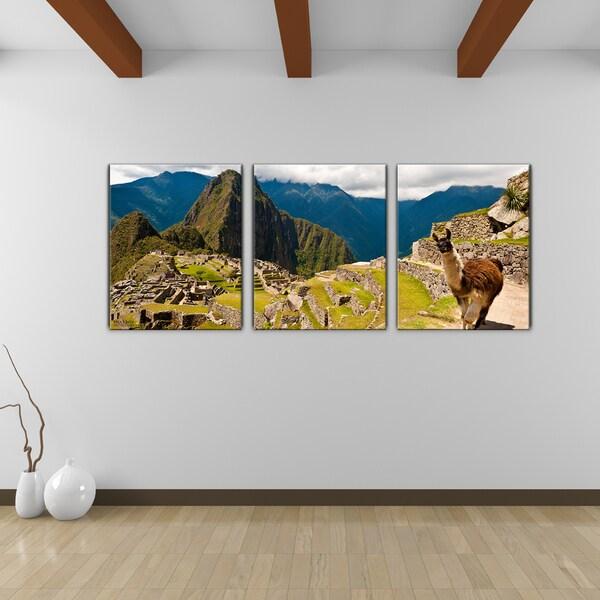 other artwork bruce bain machu picchu canvas wall art. Black Bedroom Furniture Sets. Home Design Ideas