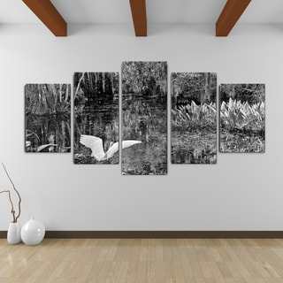 Bruce Bain 'Swamp' Canvas Wall Art (5-piece Set)