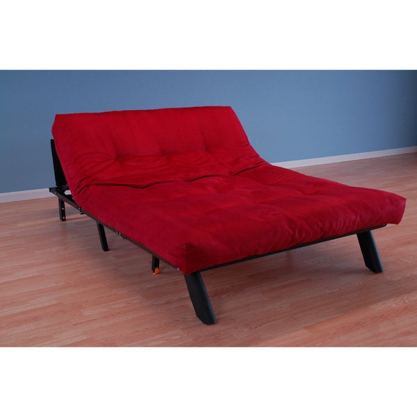 Christopher Knight Home Elroy Red Suede Futon