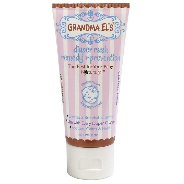Grandma El's 2-ounce Diaper Rash Remedy and Prevention Cream
