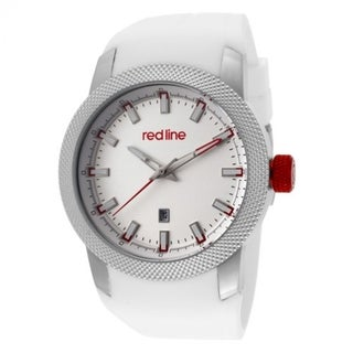 Red Line Men's RL-10016-02 Gauge White Watch
