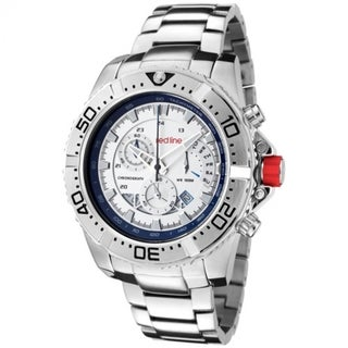Red Line Men's RL-90008-22S Racer Silver Watch