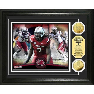 Jadeveon Clowney South Carolina Gold Coin Photo Mint