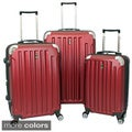Travel Concepts Ridge 3-piece Expandable Hard-side Lightweight Spinner Luggage Set