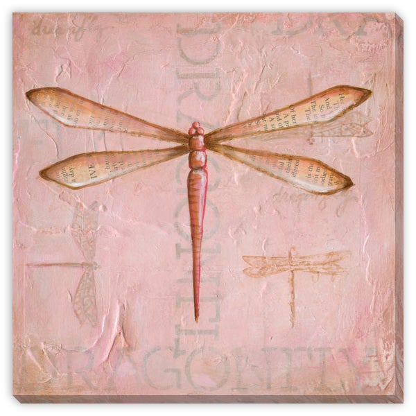 Dee Nessa's 'Dragon Fly' Canvas Gallery Wrap