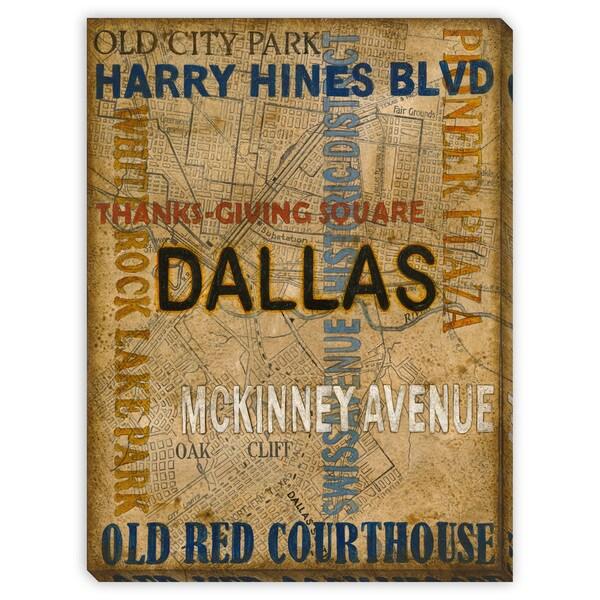 St. John's 'Dallas' Canvas Gallery Wrap