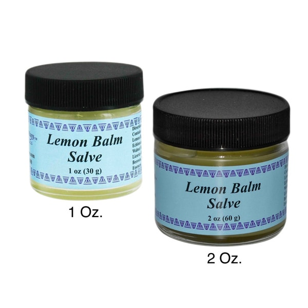WiseWays Lemon Balm Salve