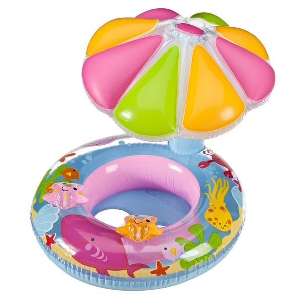 Intex Fish and Friends Baby Inflatable Pool Float