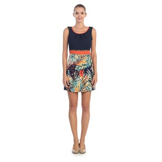 Hadari Women's Tropics Scoop Neck Dress