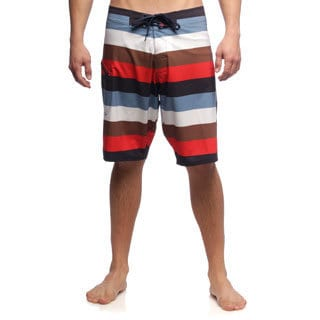 Matix Men's Dominator White Stripe Boardshorts
