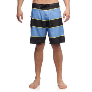 Matix Men's Stringer Black Stripe Boardshorts