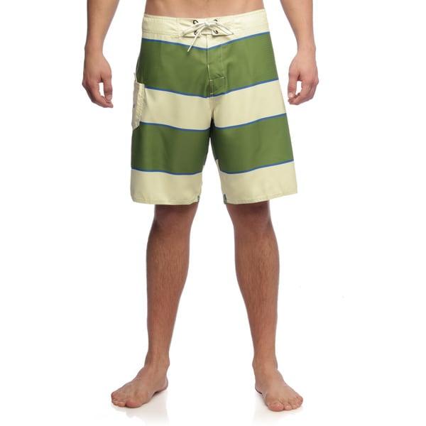 Matix Men's Stringer Creme Stripe Boardshort